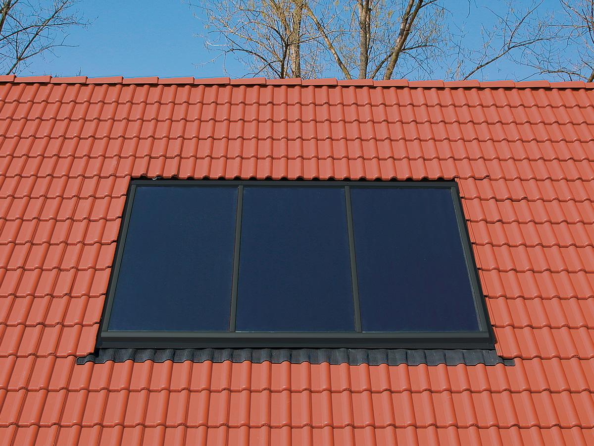 Steildach Solaranlage